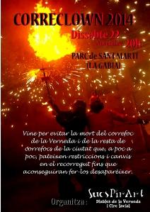 cartell correclown 2014